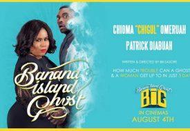 Banana Island Ghost Poster